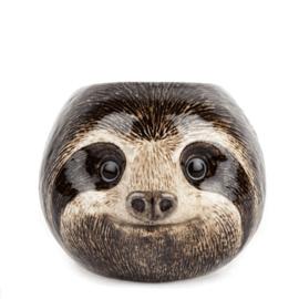 Quail sloth egg cup