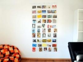 Fotogordijn 50 vakken
