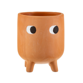 Planter terracotta 'Little leggy'