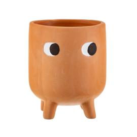 Planter terracotta 'Little leggy'