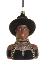 Cody Foster kerst ornament 'Beyonce'