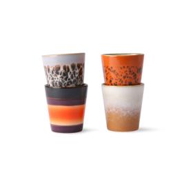 HK living 70's ristretto mug set (ACE6973)