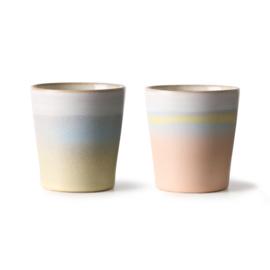 HK living 70's mug set Horizon