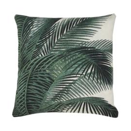 HK living kussen palm leafs