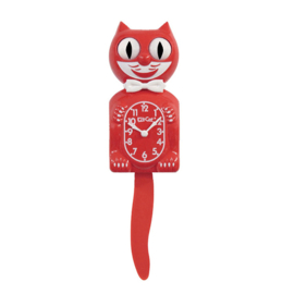 Original Kit Cat clock scarlet red