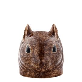 Quail squirrel egg cup