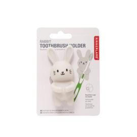 Kikkerland tandenborstelhouder  konijn