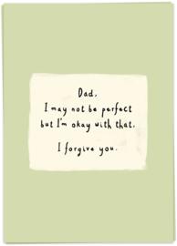 Kaart Blanche 'Not perfect'