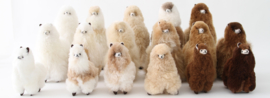 Knuffel alpaca M (in meerdere kleuren)
