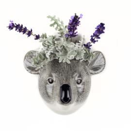 Quail Koala wall vase