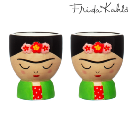 Frida Kahlo eierdoppen set van 2