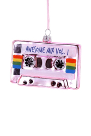 Cody Foster kerst ornament 'Awesome mix tape'