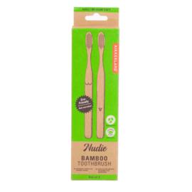 "Kikkerland bamboe tandenborstels ""Nudie"""