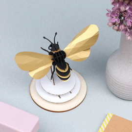 Assembli 3D Honey bee gold