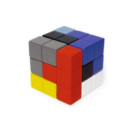 Kikkerland Block Cube 3D Puzzle