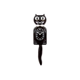 Original Kit Cat clock black S