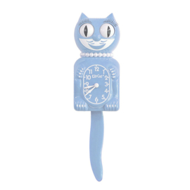 Original Kit Cat clock serenity blue