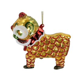 Kerst ornament 'Chinese lion'