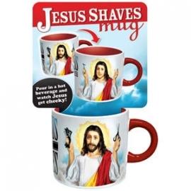 """Jesus Shaves"" mok"