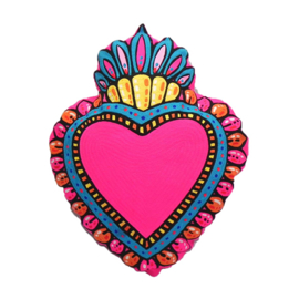 Kitsch Kitchen kussen Milagro Heart Pink