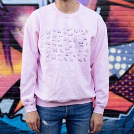"""Unisex """"Nice tits"""" sweatshirt  (in 2 kleuren)"""