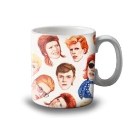 """Art wow """"Fabulous Bowie"""" mok"""