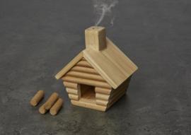 Kikkerland Little cabine incense burner