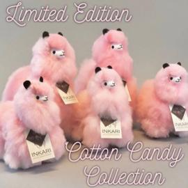 Knuffel alpaca M pink limited edition