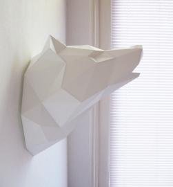 Assembli papieren Wolf (4 kleuren)