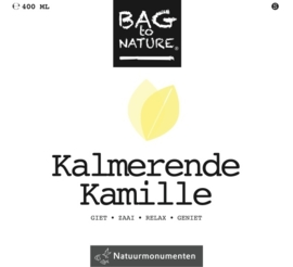 Bag to nature: Kalmerende Kamille