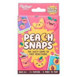 Peach snap card game travel edition