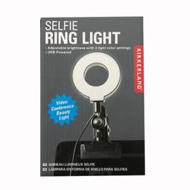 Kikkerland Selfie ring light