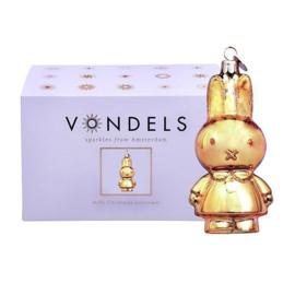 Nijntje ornament  shiny gold