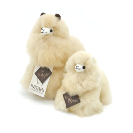 Knuffel alpaca baby
