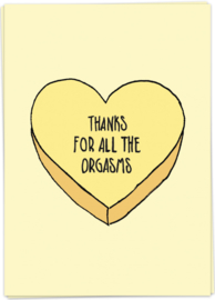 Kaart Blanche 'Candy orgasm'