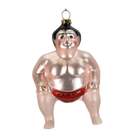 Kerst ornament 'Sumo wrestler'