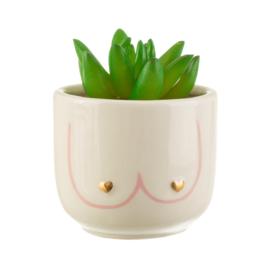 Mini plantenpot/ beker  Boobies