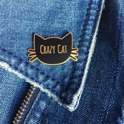 Pin crazy cat