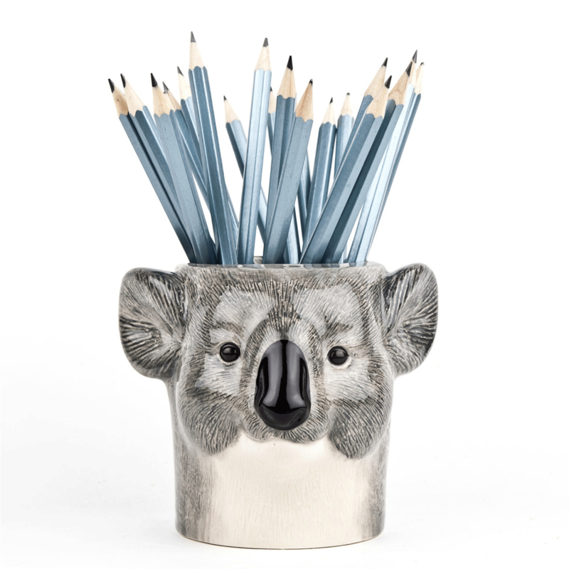 Quail Koala  pencil pot