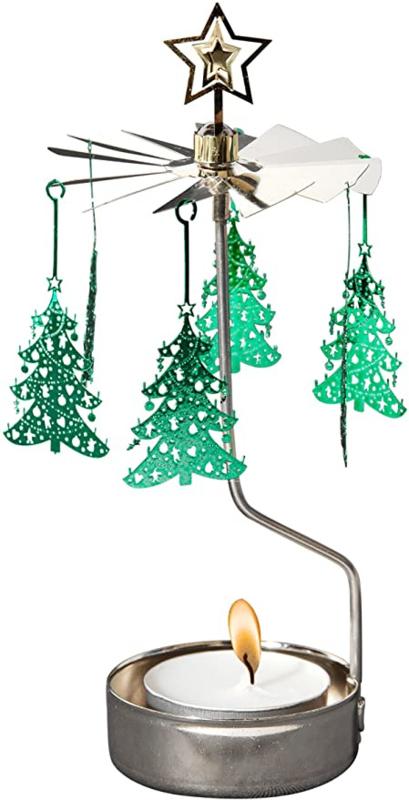 Waxinelichthouder Kerstboom