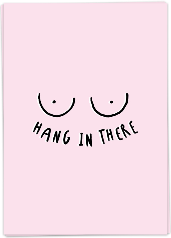 Kaart Blanche 'Hang in there'