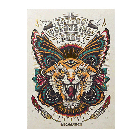 The Tattoo colouring book by Laurence King