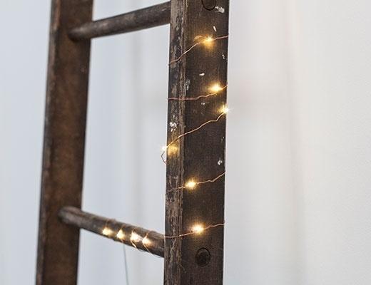 Kikkerland lichtsnoer koper