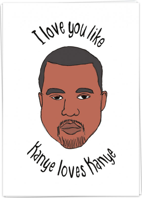 Kaart Blanche 'Kanye loves Kanye'
