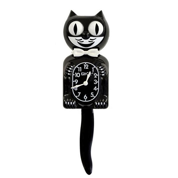 Original Kit Cat clock black