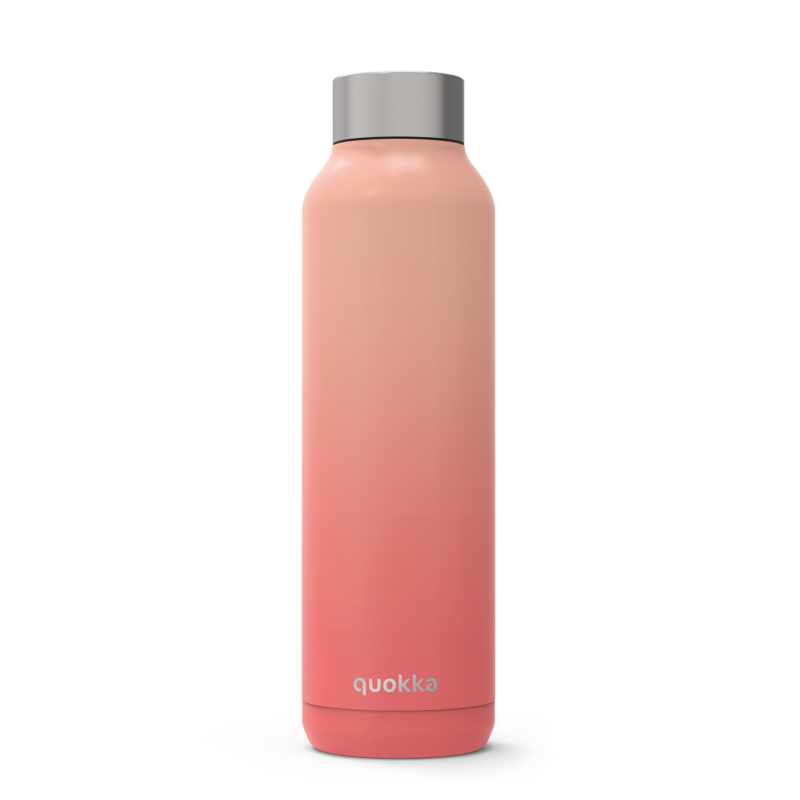 Thermosfles solid peach 630 ml.