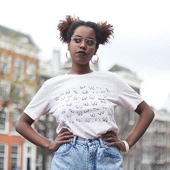 """Unisex """"Nice tits"""" t-shirt  (in 2 kleuren)"""