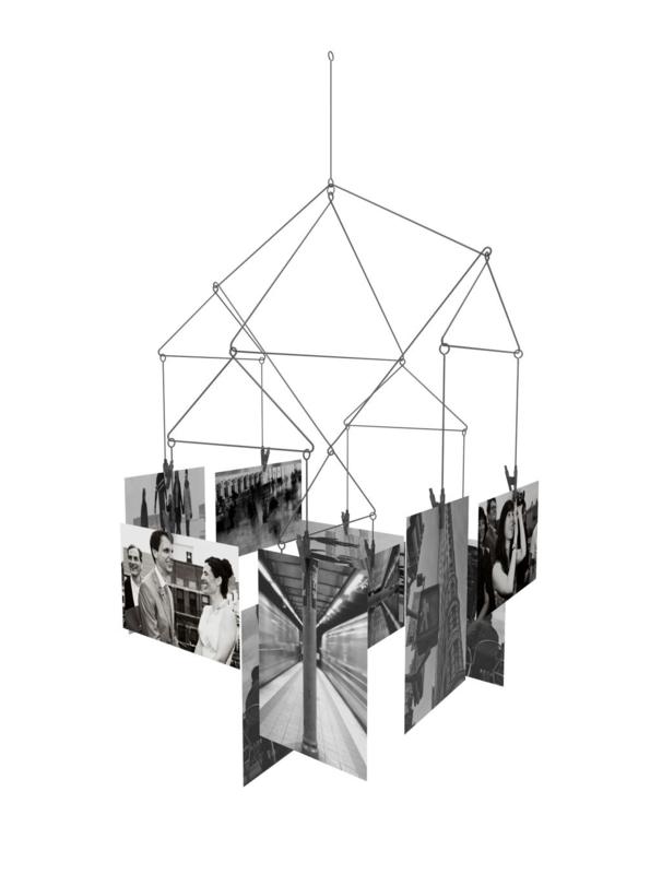 Kikkerland foto mobiel geometrisch zwart