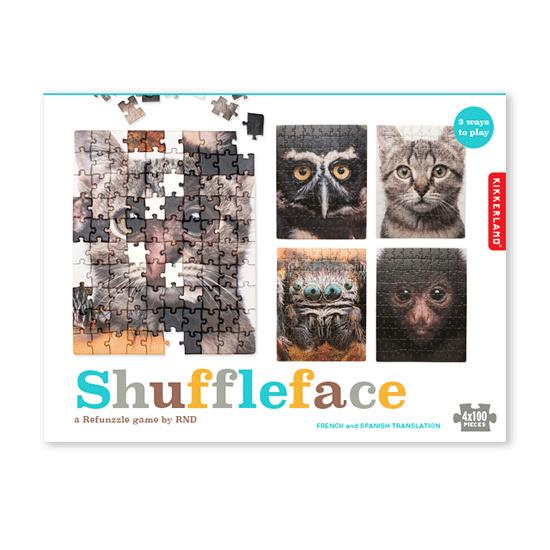 Kikkerland puzzel Shuffleface
