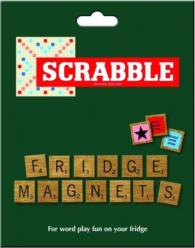 Scrabble magneten